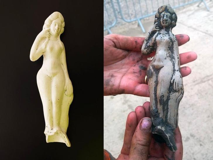 Фото №1 - В Англии найдена статуэтка римской богини любви
