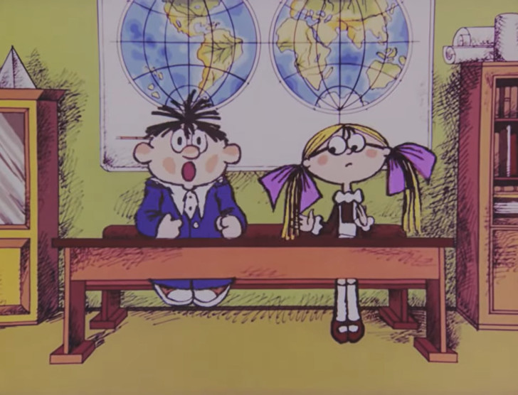 Фото №1 - 10 всеми любимых советских мультфильмов про школу