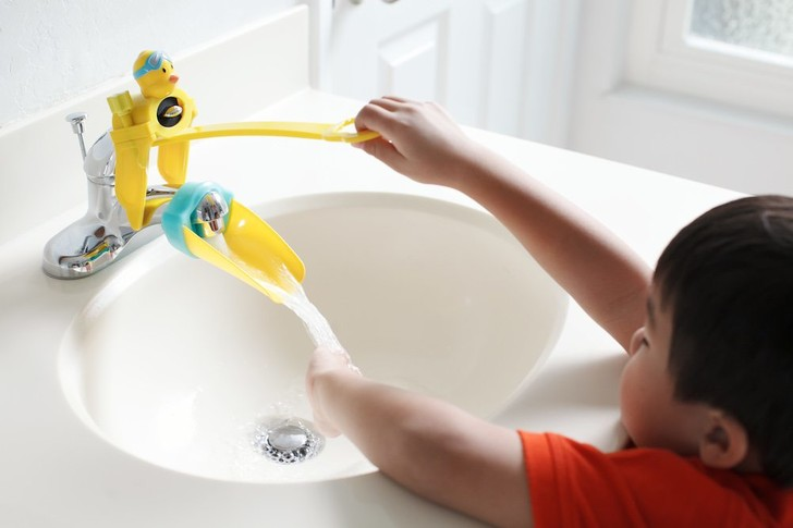 Фото №1 - Детские гаджеты для ванной