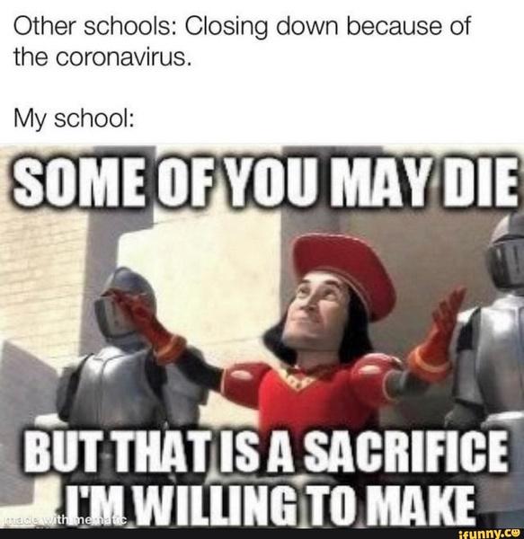 Фото №13 - 15 жизненных мемов про школу, карантин и дистанционку