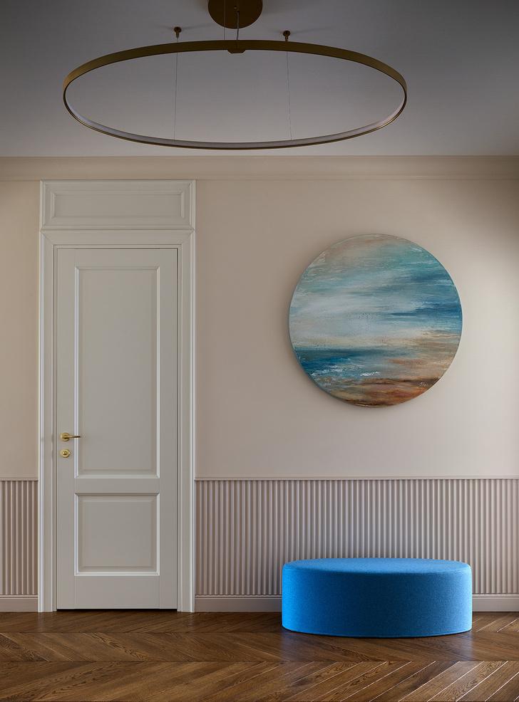 Фото №3 - Трехкомнатная квартира в оттенках синего цвета
