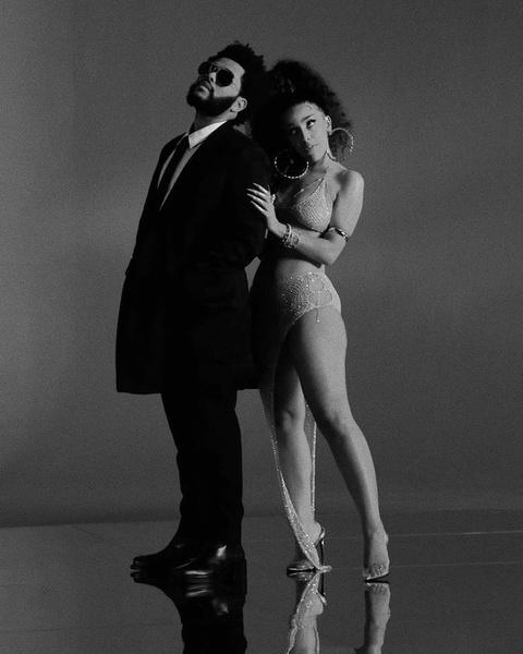 Фото №2 - The Weeknd и Doja Cat намекают фанатам на коллаборацию?