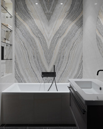 Фото №14 - Новая классика в серых тонах: квартира 100 м² в Москве