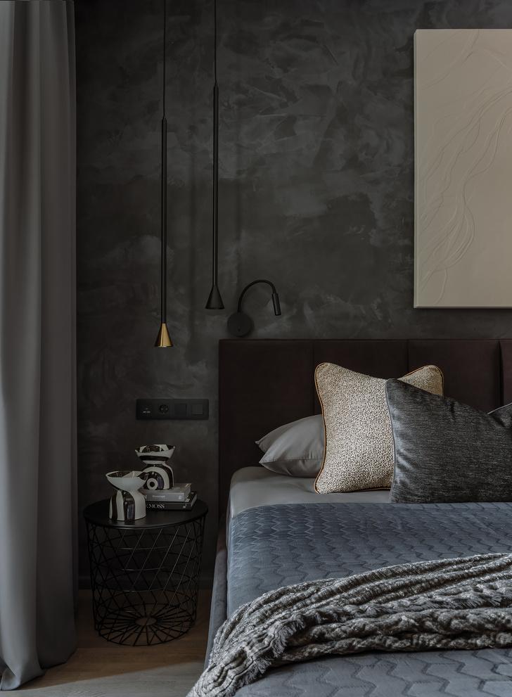 Фото №7 - Квартира 55 м² в темных тонах для молодой семьи в Подмосковье