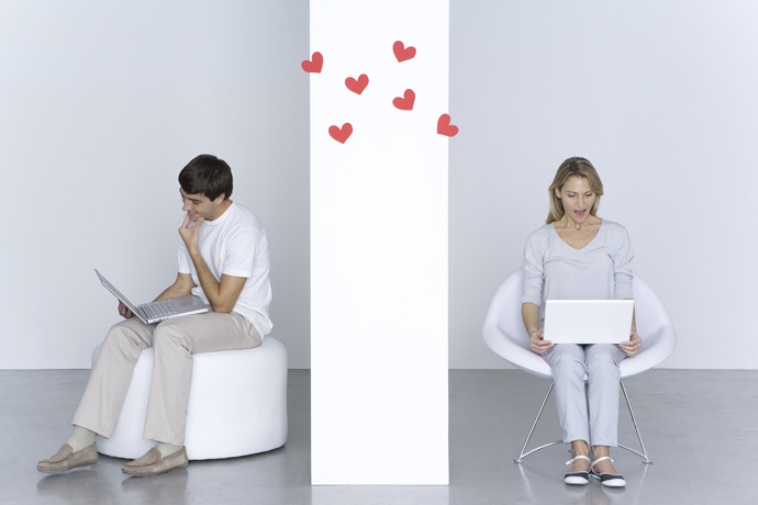 Like on the window: three problems of online dating