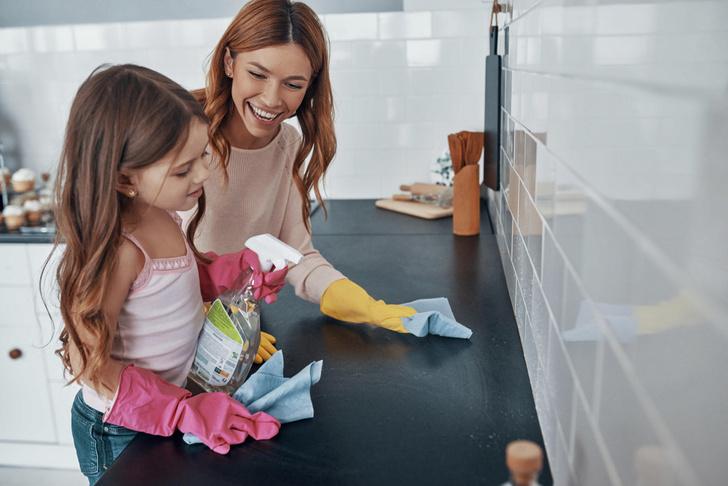 Фото №3 - Всего 30 минут: лайфхаки для быстрой уборки, проверенные мамой