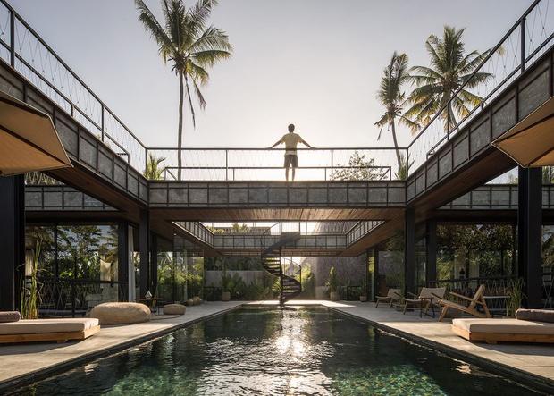 Фото №1 - Под открытым небом: вилла в джунглях Бали