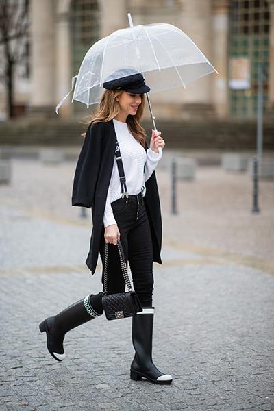 Фото №6 - Как носить резиновые сапоги и выглядеть стильно