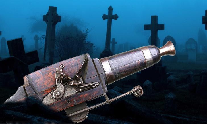 Фото №1 - Зачем на кладбищах XVIII века ставили ружья-ловушки и мины?
