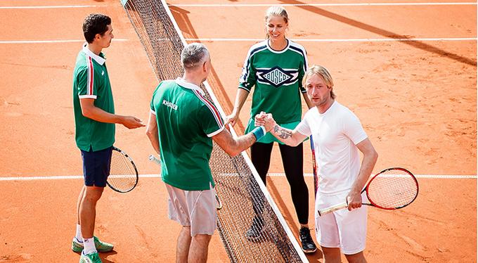 Первый благотворительный теннисный турнир BoscoFriendsOpen