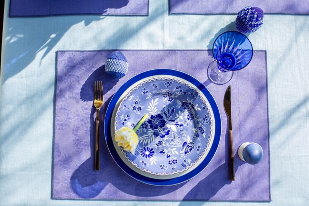 Фото №16 - Украшаем стол к Пасхе: идеи декора от Анны Муравиной