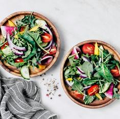 Цветная диета: 30 легких рецептов