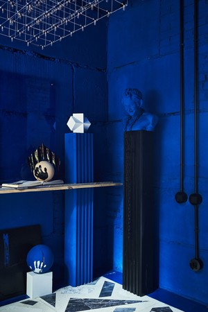 Фото №11 - Электрический ультрамарин: загородный дом для ценителя искусства