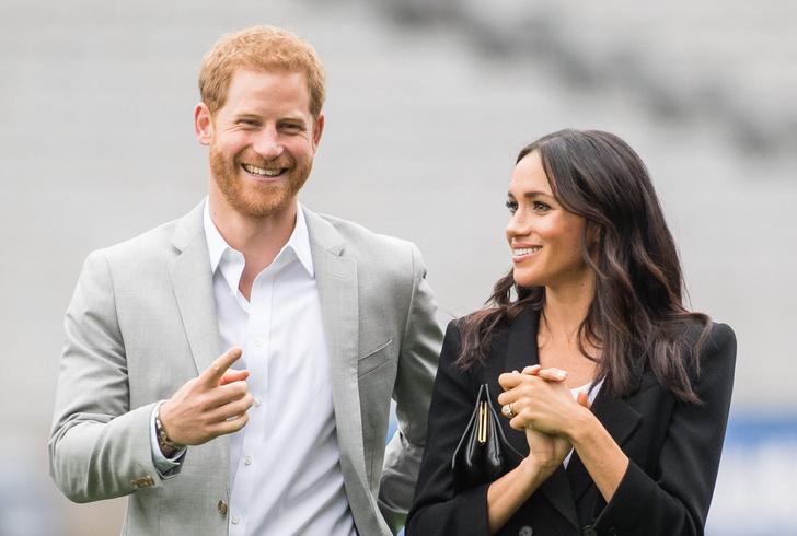 Принц Гарри и Меган Маркл дети фото свадьба