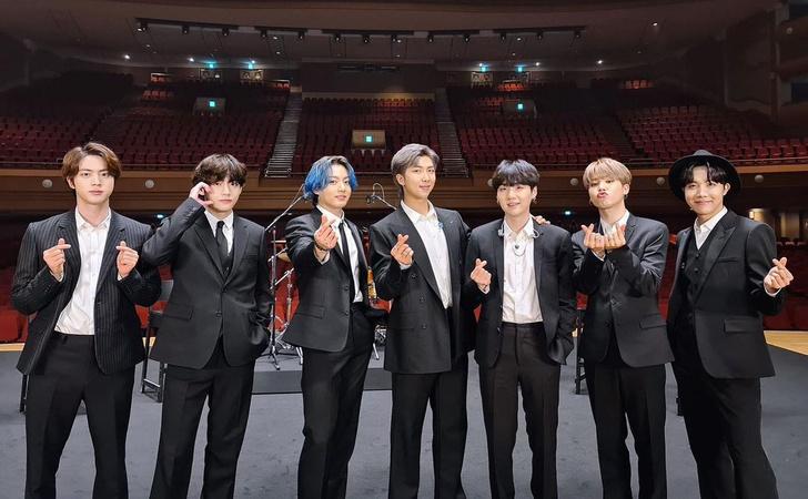 Фото №1 - BTS— первые корейские артисты, получившие номинацию на премию BRIT
