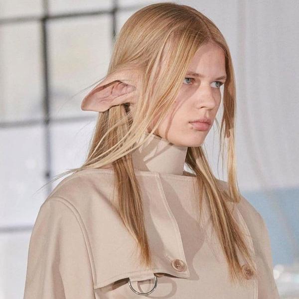 Фото №1 - Самый дикий и самый модный аксессуар нового сезона— накладные уши как у Добби из «Гарри Поттера» 😱