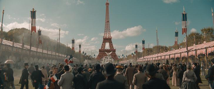 Фото №2 - Башня в виде буквы «А»: 5 удивительных фактов о символе Парижа из нового фильма «Эйфель»