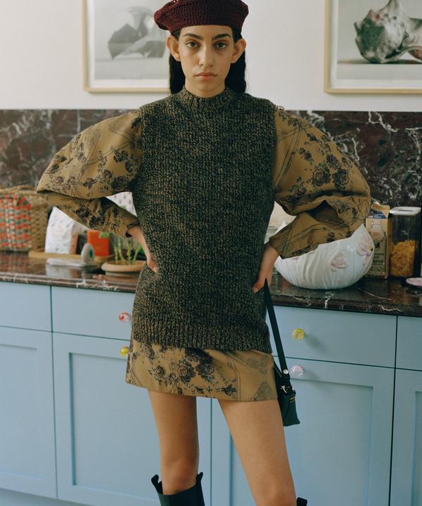 Вязаная жилетка— самый трогательный тренд сезона
