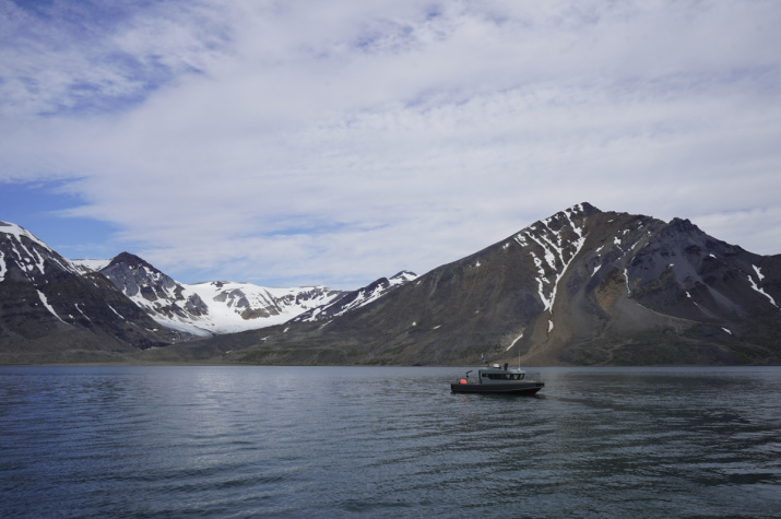 Фото №1 - В районе Новой Земли обнаружено историческое судно