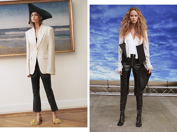 Фото №1 - Идеальные блейзеры и необычные джемперы: как выглядит новая коллекция H&M Studio SS21