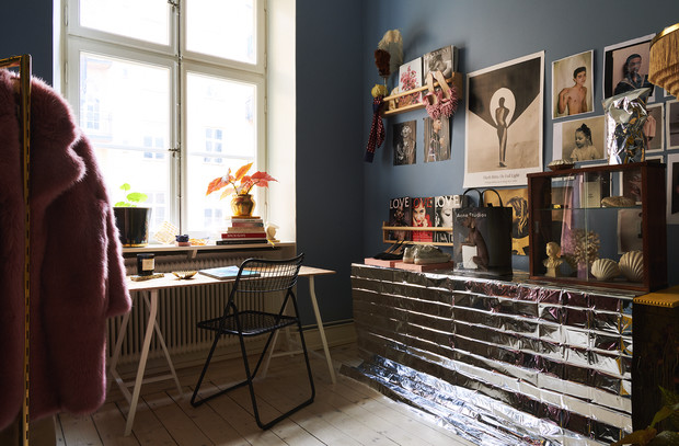 Фото №5 - Квартира с винтажной мебелью в Стокгольме