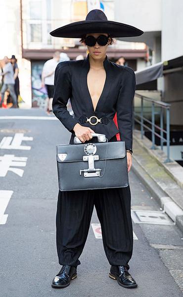 Фото №1 - Уличный стиль: такие странные японцы