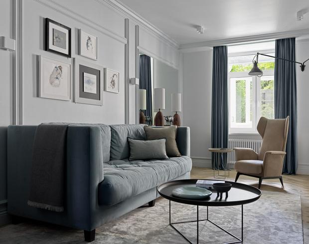Фото №1 - Чем украсить стену за диваном: 8 идей