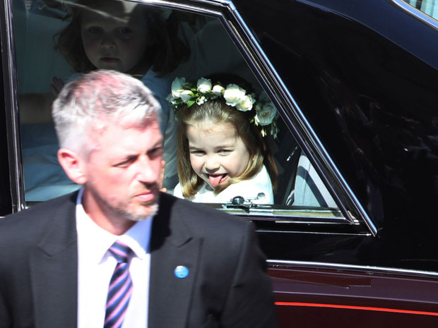 Фото №4 - Самые милые фото Джорджа и Шарлотты на королевских (и не только) свадьбах