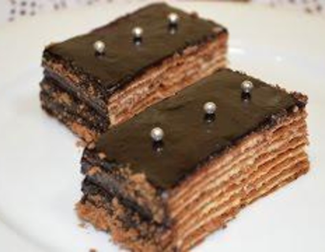 торт спартак рецепт с фото