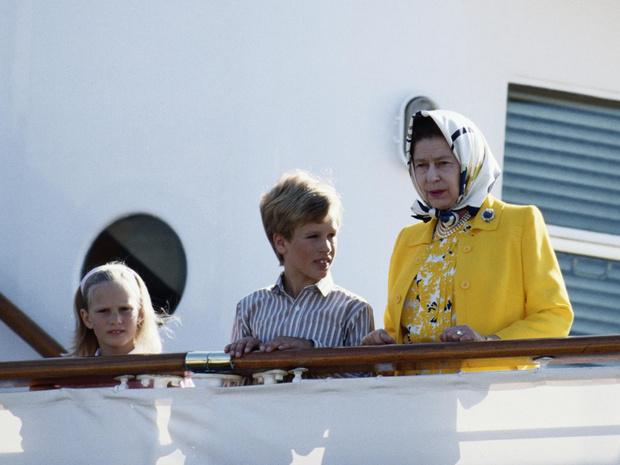 Фото №2 - Королевская традиция, которая нарушилась с рождением старшего внука Елизаветы II