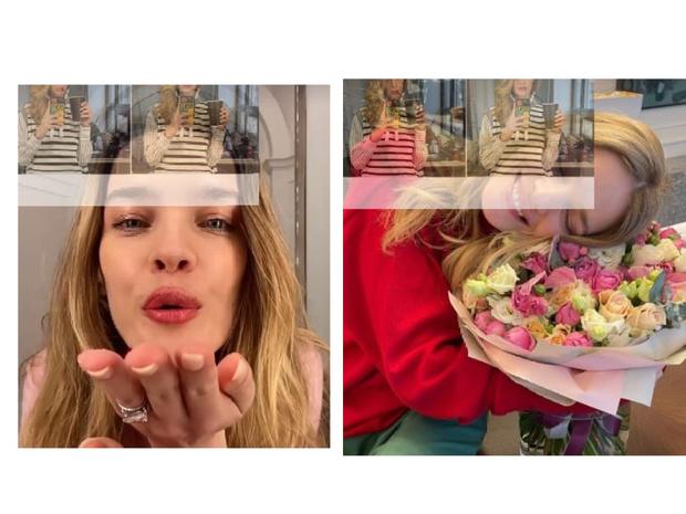 Фото №2 - Привет из Москвы: Наталья Водянова в полосатом наряде Louis Vuitton