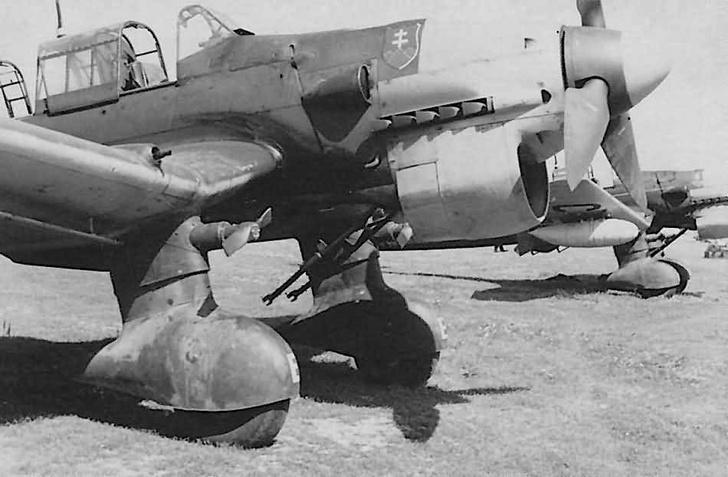 Фото №7 - Почему немецкие бомбардировщики издавали такой страшный звук