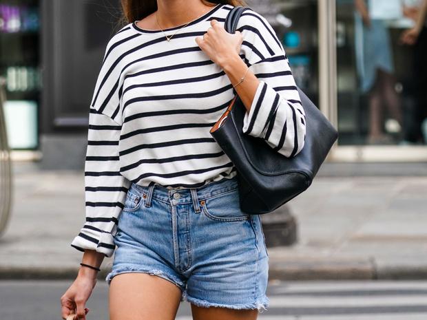 Фото №6 - Как и с чем носить тельняшку: модные идеи на любой случай