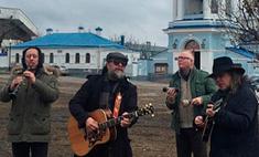 Борис Гребенщиков выступил у Покровского храма