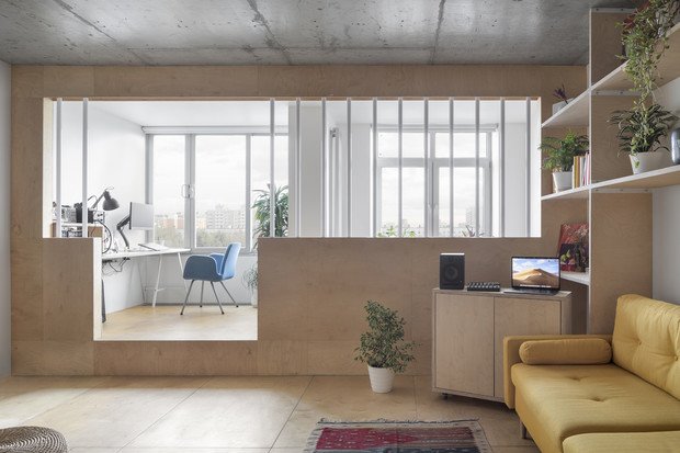 Фото №1 - Квартира для инженера в Москве