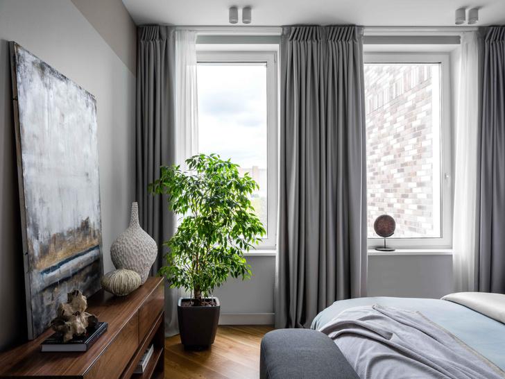 Фото №11 - Московская квартира 100 м² в пастельных тонах