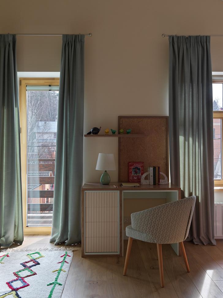 Фото №9 - Загородный дом в пастельных оттенках