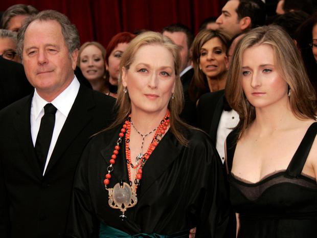 Мерил Стрип с семьей