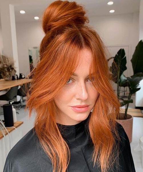 Фото №4 - Медный цвет волос: идеи окрашивания