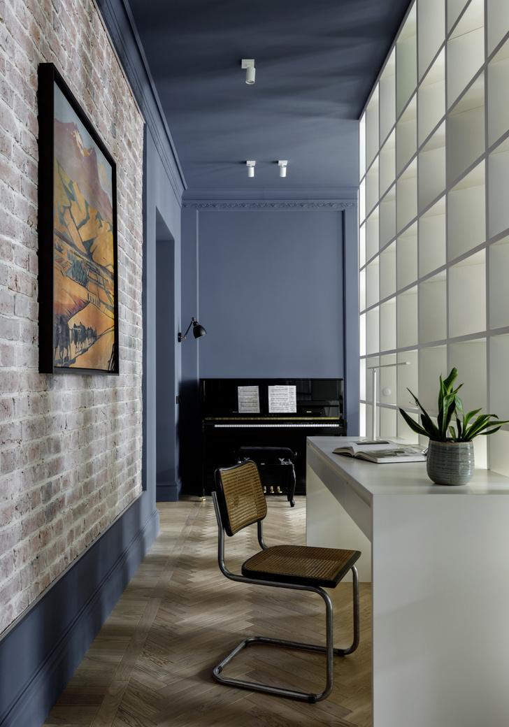 Фото №5 - Современный интерьер в бывшем доходном доме в Москве
