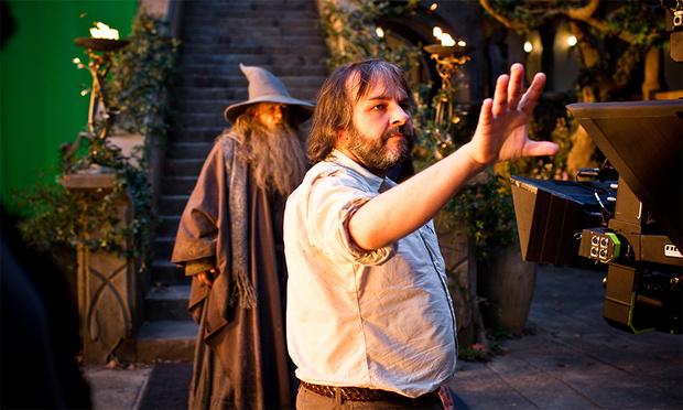 Питер Джексон обучает Гэндальфа основам практической магии
