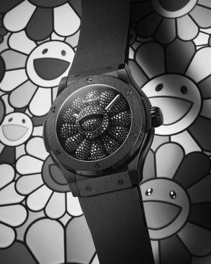 Фото №4 - На грани искусства и технологий: Hublot выпустил часы вместе с Такаси Мураками