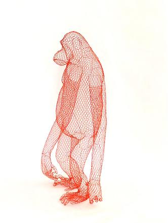 Фото №5 - Необычные скульптуры из проволоки Бендетты Мори Убальдини