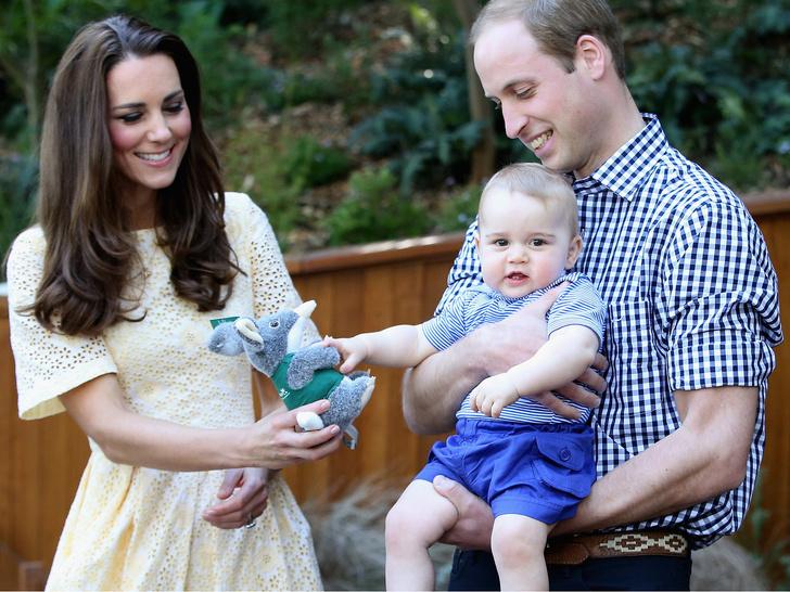 Фото №13 - Самые милые фото, на которых принцев Уильяма и Джорджа не отличить друг от друга