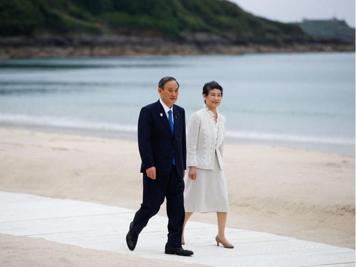 Фото №9 - Саммит G7 в Корнуолле: как выглядят Первые леди Европы и Японии