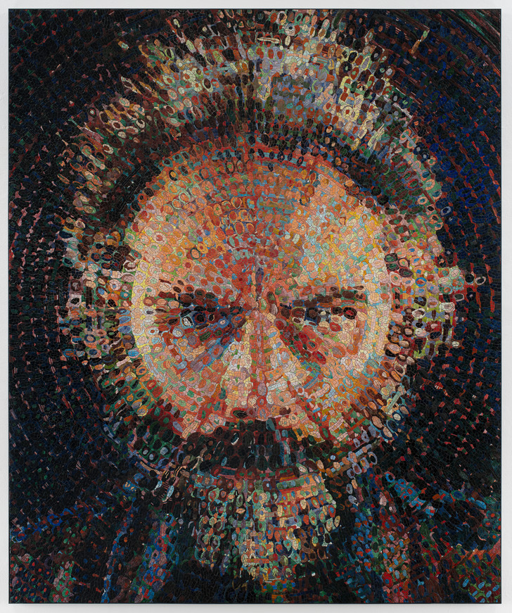 Фото №1 - Выставка Чака Клоуза в Gary Tatintsian Gallery