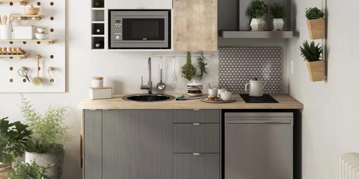 Фото №1 - Маленькая кухня: 8 полезных идей и лайфхаков
