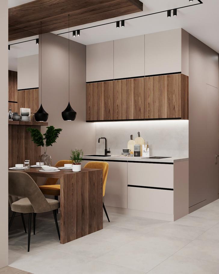 Фото №1 - Квартира без кухни: 5 советов по проектированию и оформлению