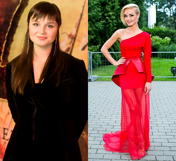 Как на самом деле похудела полина гагарина похудела на 40 кг фото до и после