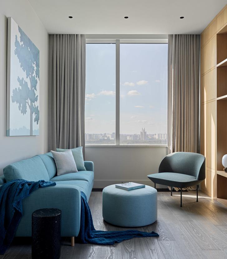 Фото №7 - Витает в облаках: квартира на 26 этаже в Москве